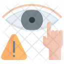 Eyes Avoid Touch Icon