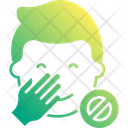 Do Not Touch Face Icon