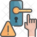 Avoid Touch Door Icon