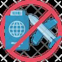 Do Not Travel Icon