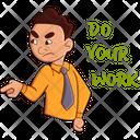 Office Boy Employee Businessman Icon