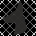 Doberman Dog Animal Icon