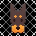 Dobermann Dog Puppy Icon