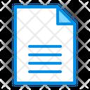 Doc Document Text Icon