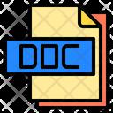Doc File File Type Icon
