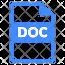 Doc File Doc File Icon