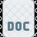 Doc File Document File Icon