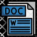 Doc File File Folder Icon
