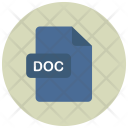 Doc File Extension Icon