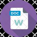 Doc File Text Icon