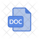 Doc Word Office Icon