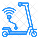 Dockless Scooter Wireless Wifi Icon