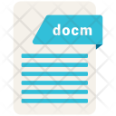Docm File Icon