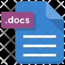 Docs File Paper Icon