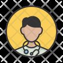 Doctor Hospita Man Icon