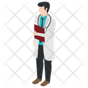 Physician Health Professional Medical Doctor Icon