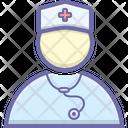 Doctor Nurse Female Icon