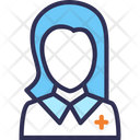 Doctor Nurse Woman Icon