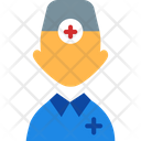 Doctor Nurse Surgeon Icon