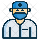 Doctor Surgeon Nurse Icon