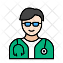 Doctor Male Medical Icon