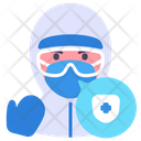 Doctor Ppe Suit Icon