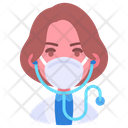Doctor Medical Mask Icon