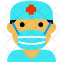 Doctor Coronavirus Covid Icon