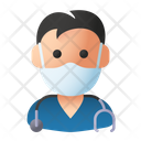 Avatar Man Nurse Icon