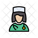 Female Doctor Checkup Icon