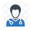 Doctor Physio Therapist Icon