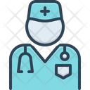 Doctor Surgeon Stethoscope Icon
