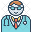 Medical Assistance Man Doctor Physician Icon