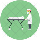 Doctor Operation Patient Icon