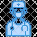 Doctor Surgeon Mask Icon