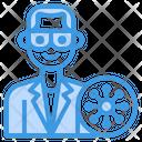 Doctor Coronavirus Mask Icon