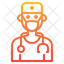 Doctor Surgeon Mask Icon