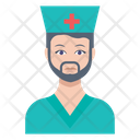 Doctor Medic Male Icon
