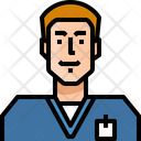 Occupation Avatar Doctor Icon