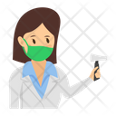 Doctor Medical Checkup Doctor Examination Icon