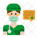 Doctor User Job Icon