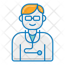 Doctor Physician Stethoscope Icon