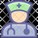 Doctor Nurse Healthcare Icon