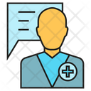 Doctor Consulting Physician Icon