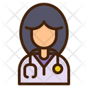 Doctor Woman Avatar Icon