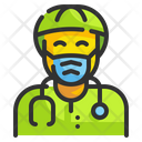 Doctor Virus Bacteria Icon