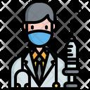Doctor Syringe Insulin Icon