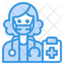 Doctor Medical Occupation Icon