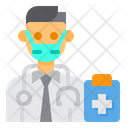 Doctor Avatar Mask Icon