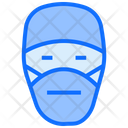 Doctor Face Mask Healthcare Icon
